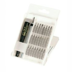 Wiha 75992 System 4 Precision Interchangeable Bit Set, Torx, Slotted, Phillips, Hex Inch, ESD Safe Precision Handle, 27 Piece In Compact Box (Tools & Home Improvement)  http://look.bestcellphoness.com/redirector.php?p=B0000WTBO4  B0000WTBO4