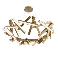 Modern Forms Chaos 31 - Light Unique / Statement Geometric LED Pendant | Perigold