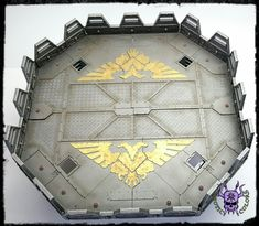 Skyshield Landing Pad #ChaoticColors #commissionpainting #paintingcommission #painting #miniatures #paintingminiatures #wargaming #Miniaturepainting #Tabletopgames #Wargaming #Scalemodel #Miniatures #art #creative #photooftheday #hobby #paintingwarhammer #Warhammerpainting #warhammer #wh #gamesworkshop #gw #Warhammer40k #Warhammer40000 #Wh40k #40K #terrain #scenery #Scifi #WallofMartyrs #imperial #Skyshield #LandingPad 40k Terrain, Warhammer 40000, Tabletop Games, Gw, Scale Models, Landing, Scenery, Sci Fi, Louvre