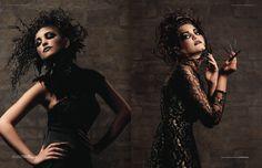 Dark Beauty   Magazine on Behance