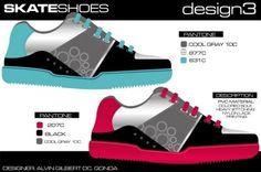Skate Board Shoes .  Designer : Alvin Gilbert Dc. Gonda  Email: abugonda@yahoo.com