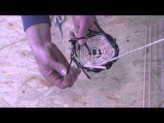 Papierowa wiklina krok po kroku -  jak zrobić zakończenia proste do koszyka, kolczyków