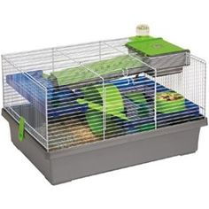 Rosewood Pico Small Animal Cage - Silver Rosewood Pico Silver Hamster Cage is fun and funky for both the… Hamster Bedding, Guinea Pig Bedding, Ferret Toys, Guinea Pig Toys, Dog Bed Sale, Chinchilla Food, Senior Cat Food, Free Cat Food, Soft Dog Treats