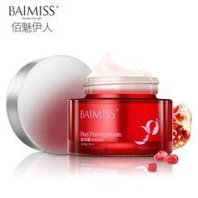 Baimiss beleza romã hidratação profunda creme Facial creme de clareamento nutritivo Anti envelhecimento rosto essência 50 g(China (Mainland))