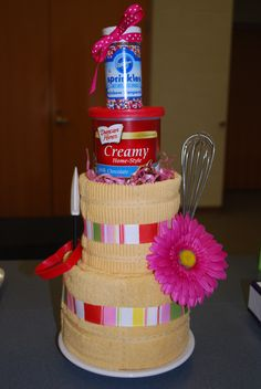 made this towel cake 4 a bridal shower