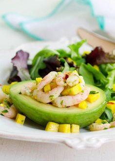 #Recipe: Avocado Stuffed with Spicy Shrimp