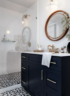 Bold Bohemian Bathroom The Home Depot