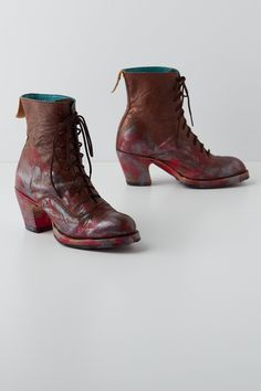Handpainted Studio Boots