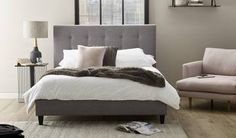 Save on the Electra King Bed Frame and a wide range of United Furniture products at Beds Online Value Furniture, Bedroom Furniture Sets, Bedroom Ideas, King Beds, Queen Beds, Retro Bed, King Bed Frame, Lounge Suites, Foot Of Bed
