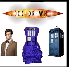 Doctor Who Tardis Dress Whovians by GoGetYourGeekOn on Etsy, $90.00