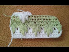 Bebek battaniye modeli, baby blanket - YouTube Crochet Bunting Pattern, Crochet Leaf Patterns, Crochet Leaves, Shawl Patterns, Crochet Box Stitch, Crochet Crocodile Stitch, Crochet Stitches, Free Crochet, Crochet Hats