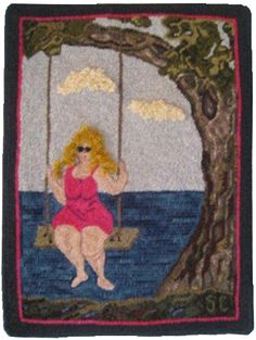 Sue's Women of Abundance Simply stated...I created this hooking series to celebrate real women and poke a little fun in a tonque-in-cheek way at one of the stereotypes in existence today. I have...