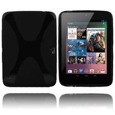 X-line (Sort) Google Nexus 10 Deksel