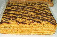 img_0615 Romanian Desserts, Romanian Food, Torte Cake, Food Cakes, Food Festival, Diy Food, Banana Bread, Food To Make, Cake Recipes