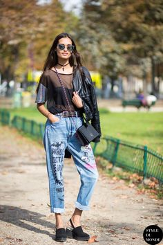 Paris FW SS15 Street Style: Gizele Oliveira