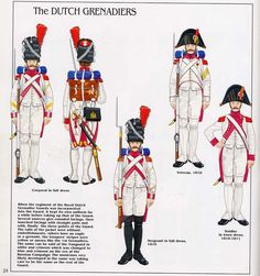 Imperial Guard, Grenadiers a Pied, Grenadier, Veteran & NCOs Army Uniform, French Empire, French Army, Mystery Of History, Napoleonic Wars, World History, Military History, Dutch, Franz