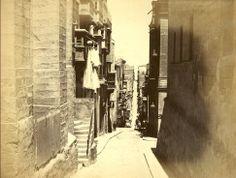 St. Ursula Street Valletta Malta in 1875