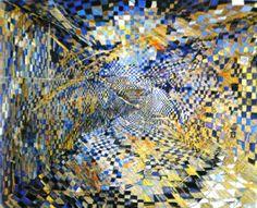 Maria Helena Vieira da Silva - Corredor Sem Limite - 1948 Nadir Afonso, Modern Art, Contemporary Art, Abstract Art Images, Art Informel, Abstract Expressionism, Female Art, Art History, Art Drawings