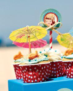 {Darling & Summery} Vintage Beach Baby Shower