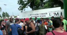 Deportados desde México 91 migrantes cubanos