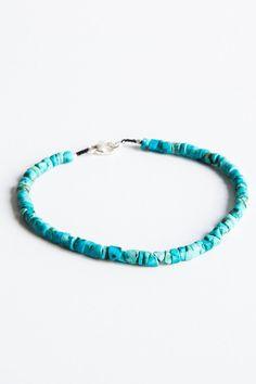 margaret solow turquoise beaded bracelet – Lost & Found Turquoise Beads, Turquoise Bracelet, Lost & Found, Jewelry Bracelets, Cuffs, Fashion, Jewelery, Moda, Fasion