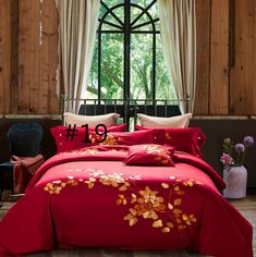 Egypt Cotton Coffee Bule Embroidery Luxury Oriental Bedding set – I sell what I love Red Bedding Sets, Cotton Bedding Sets, Queen Bedding Sets, Bed Linen Sets, Cotton Sheets, Purple Bedding, Cotton Fabric, Queen Size Bed Sets, Queen Size Duvet Covers