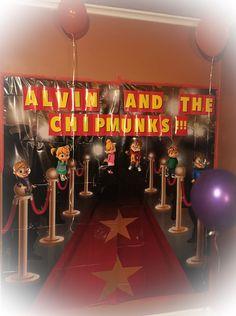 Alvin and the Chipmunks scene setter for kids