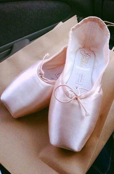 Ballet, Grishko pointe shoes
