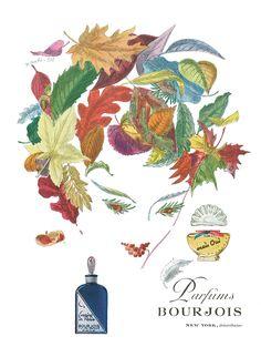 1946 Xanti Pat Art Bourjois Evening in Paris Courage Mais OUI Perfume Vintage Ad Vintage Labels, Vintage Ads, French Vintage, Vintage Posters, Vintage Clip, Vintage Paper, Paris Perfume, Perfume Ad, Perfume Bottles