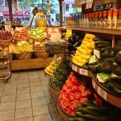 Garden of Eden Marketplace - New York, NY, United States. Such an amazing selection of produce. See our grocery guide for store location at: http://www.allaboutcuisines.com/grocery-shops/gourmet-food/in/all #Gourmet Food
