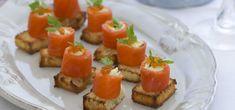 Smoked Salmon with Crab and Celeriac Rémoulade with Green Shallot Dressing   Entrée recipes   Bitton