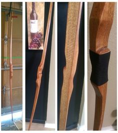 How to Make a Homemade Long Bow With Wood From the Hardware Store in under 10 total hours. A detailed post and great weekend project that anyone can do.
