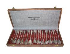 Set for 12 Silver plate Desert Pastry Forks by MargsMostlyVintage