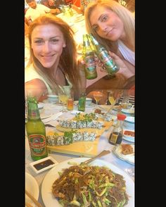 After a long and adventurous day & night... stop for sushi and Chinese beer...😋🍱🍺 To be continuous....✈️🇺🇸 #travel #vacation #summer #holidays #california #losangeles #crossfit #crossfitgames #fittestonearth #fit #fitness #crossfitaddict #fitnessaddict #sushi #chinese #thessaloniki #friends #bestfriend #adventurous #eatclean #healthy #liveyourlife #followyourdreams #photooftheday #lovemjob #athlete #coach #personaltrainer #fitnessdiary #katerinavarela