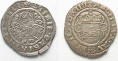 1514 Haus Habsburg RDR - WIEN Halbbatzen 1514 (MDXIIII) MAXIMILIAN I. Silber ERHALTUNG! # 95081 ss-vz