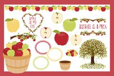 Check out Apple Trees by Kelly Jane Creative on Creative Market