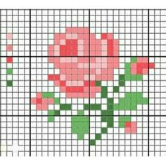 Thrilling Designing Your Own Cross Stitch Embroidery Patterns Ideas. Exhilarating Designing Your Own Cross Stitch Embroidery Patterns Ideas. Mini Cross Stitch, Cross Stitch Heart, Cross Stitch Cards, Cross Stitch Flowers, Cross Stitching, Rose Embroidery, Cross Stitch Embroidery, Embroidery Patterns, Cross Stitch Designs