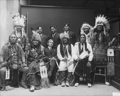 Ponca Chiefs - 1914   The Ponca, Omaha -Tribe of Indians of ...