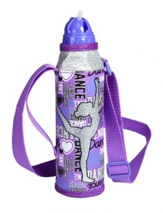 Dance Water Bottle with Strap !                       So Awesome (Comment if you like it)           Justice I believe right ?