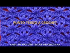 Punto # 10 tejido a crochet o ganchillo paso a paso - YouTube