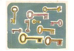 postkaarten sleutels Klaas Gubbels