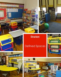 defined spaces