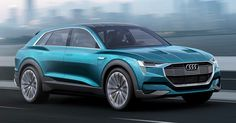Audi Plans To Build Three New EVs And A Self-Driving Car By 2020 #Audi #Electric_Vehicles