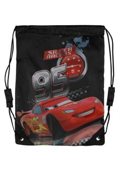 """Fabrizio. CARS - Rucksack - black. Pattern:Print. length:11.0 """" (Size One Size). width:0.5 """" (Size One Size). Lining:nylon. Outer material:polyurethane,polyester. height:14.5 """" (Size One Size)"""