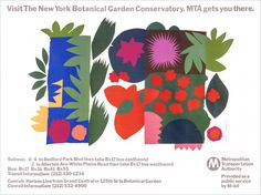 New York MTA Poster Series - Chermayeff & Geismar & Haviv Poster Series, Design Firms, Graphic Design, Projects, Construction, York, Collection, Culture, Log Projects