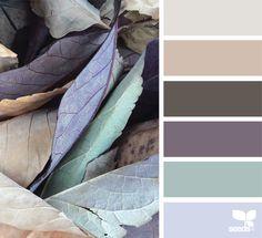 {} Las hojas de color a través de la imagen: @designseeds