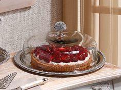 Biev Taşlı Kek Fanusu - Güven Evim