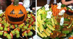 Fruit kabobs!
