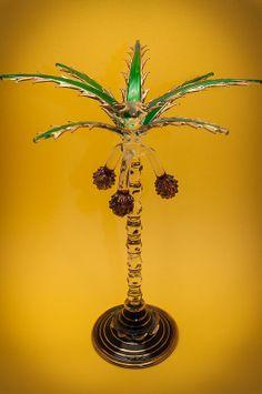 flacon à parfum égyptien palmier