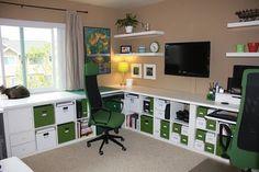 IKEA Hackers: Workspace Plus Storage